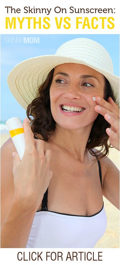Get the Skinny on Sunscreen!!!! Myths Vs. Facts!!!!