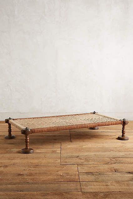Woven Leather Daybed $1,198 anthropologie.com