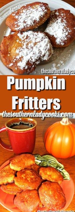 Pumpkin fritters is one of my favorite fall recipes. I can't get enough of them.  These pumpkin fritters sprinkled with confectionery sugar are a treat your whole family will enjoy. They never last long …