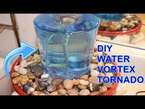 How to make a VORTEX WATER FOUNTAIN at home - YouTube