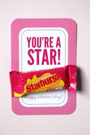 Starburst Valentine idea by Ameliaflorence