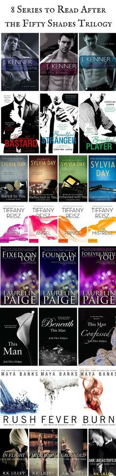 8 Series to Start After You Finish the Fifty Shades Trilogy