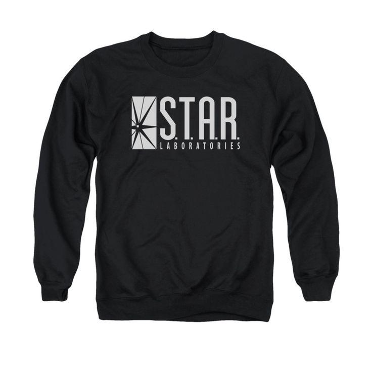 S.T.A.R. Labs The Flash TV Show Mens Crewneck Sweatshirt