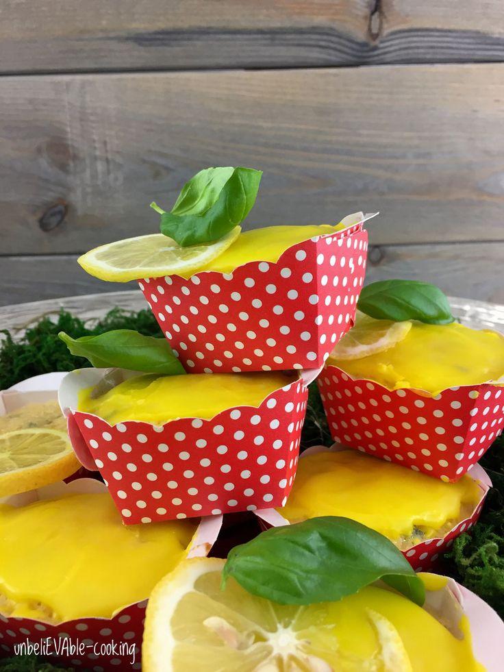 Zitronen-Basilikum-Küchlein