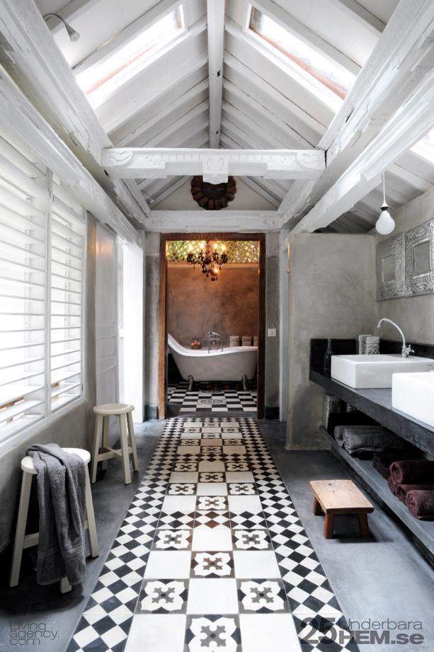 Exotic tile design. #flooring #design #tile