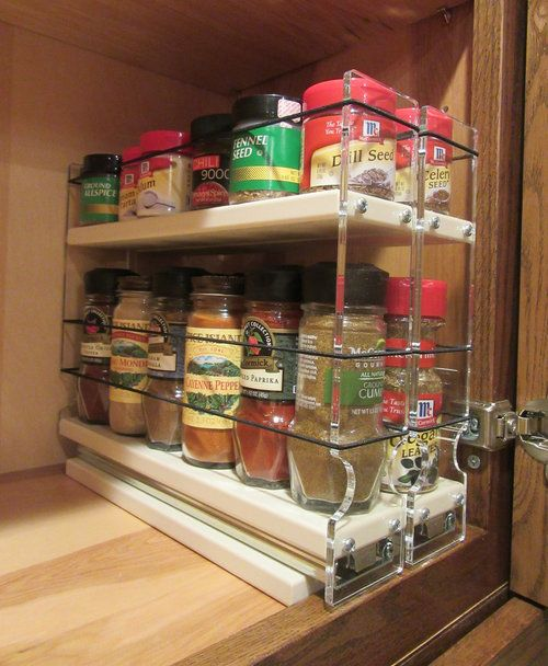 Mail Order Kitchen Cabinets: 1000+ Ideas About Spice Cabinet Organize On Pinterest