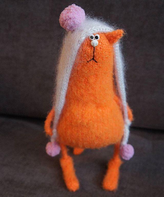 Amigurumi orange cat. (Inspiration).
