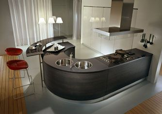 curves in the kitchen
