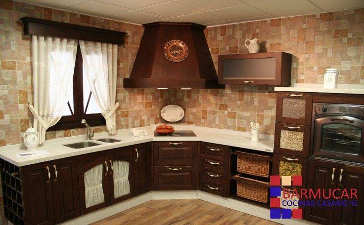 Cocinas rusticas buscar con google cocinas pinterest b squeda - Cocinas camperas rusticas ...