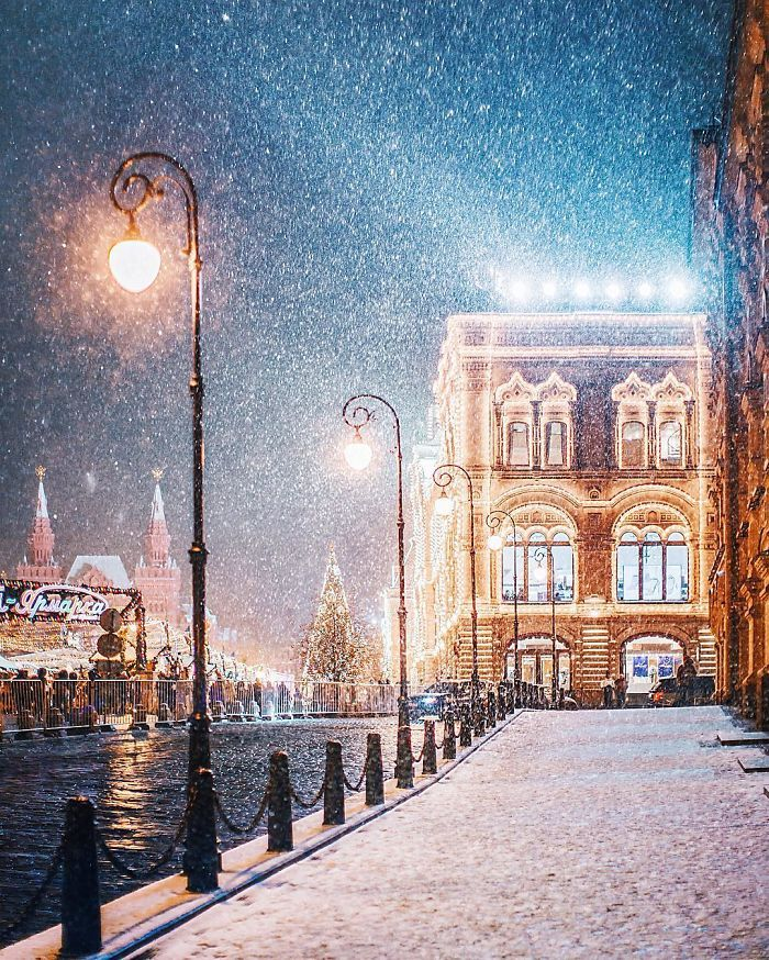 Moscow Looks Like A Fairytale During Winter, So I Tried To Capture Its Beauty