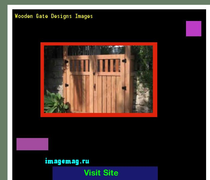Wooden Gate Designs Images 134520 - The Best Image Search