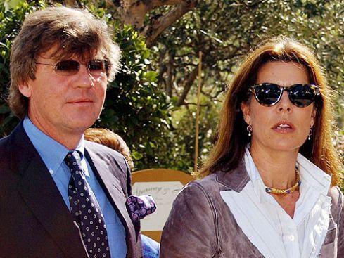 Prinzessin Caroline von Monaco und Prinz Ernst August von Hannover