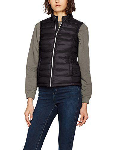 Vero Moda Vmsoraya Waistcoat Boos Manteau Femme Noir (Black) 40 (Taille  Fabricant  991cde74f09