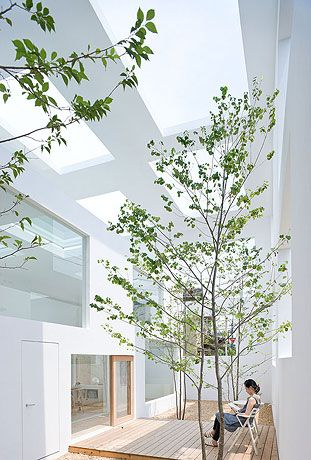 House N by Sou Fujimoto Architects.In this architecture, an outdoor space feels like the indoors and an indoor space feels like the outdoors.