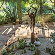 Desert Plantings Star In This Backyard Garden Area With An Eastern  Exposure. #phgmag #