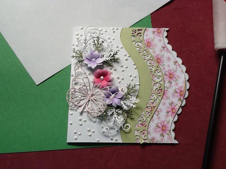 Spell binders die cut card