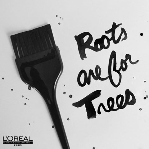 Roots are for trees. Find a L'Oréal Professionnel salon near you and refresh your colour!