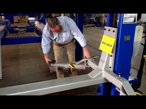 Workhorse Portable Car Lift MSC-6K - Specialty Lifts - Car Lifts