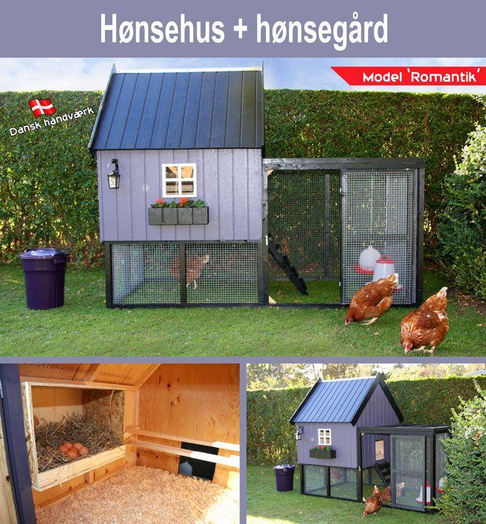 Hønsehus model 'Romantik'