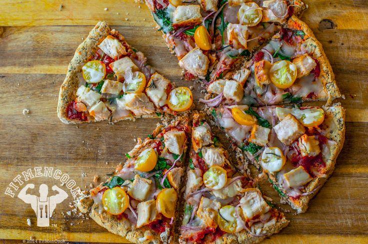 Cómo Hacer Corteza de Pizza Hecha de Coliflor