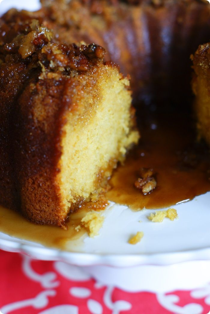 """one of the BEST cakes I've ever eaten"" - kahlua (or rum) pudding cake from The Pioneer Woman Cooks: A Year of Holidays cookbook @Reena Dasani Drummond 