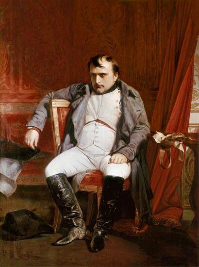 Napoleon à Fontainebleau