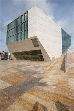 Casa da Música -OMA – Rem Koolhaas