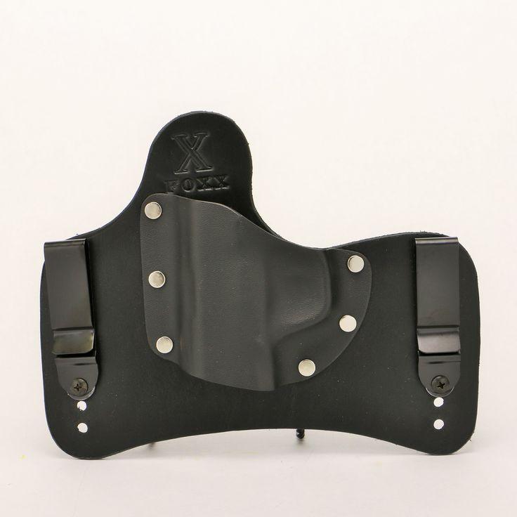 "SOB ""Small of Back"" IWB Hybrid Holster (Black Leather)"