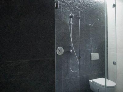 Mieszkanie prywatne - Katowice - Fragment łazienki