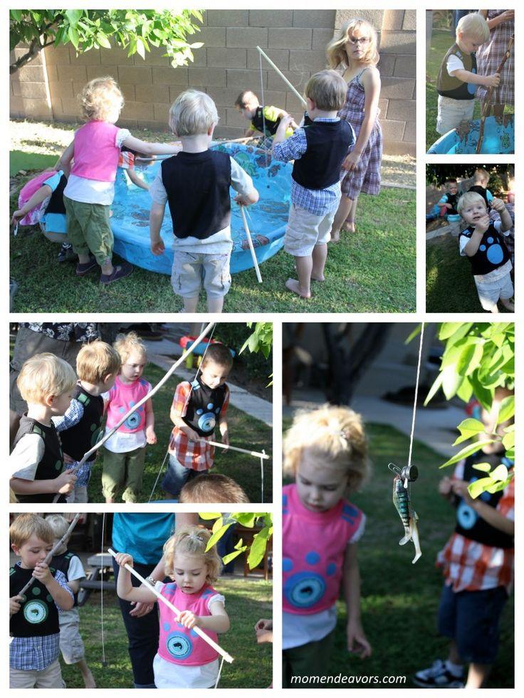 Wild Kratts party--fishing
