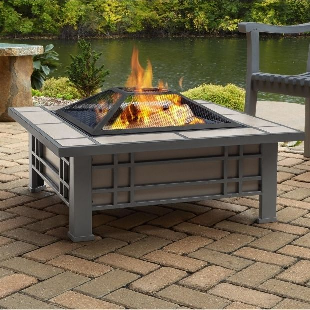 Picture Of Outdoor Wood Burning Fire Pits Real Flame Morrison Steel Wood Burning Fire Pit Table Wayfai Backyard Fire Fire Pit Backyard Fire Pit Table