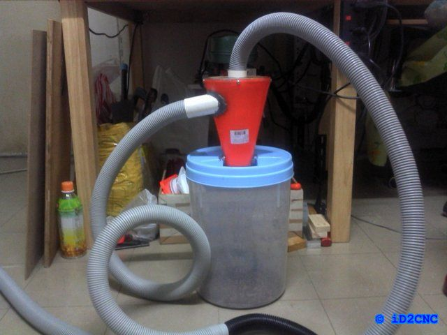 56 best dust collection images on pinterest woodworking dust diy cnc part 62 diy cyclone dust collector solutioingenieria Images