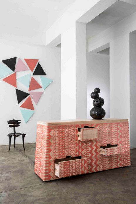 Graphic Africa exposition - London design week || Photo : Karl Rogers