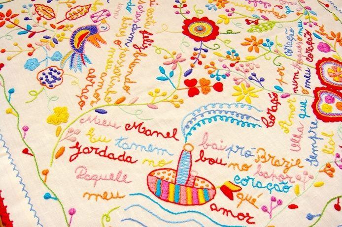 ポルトガル発、愛の言葉を刺繍で伝える 「恋人達のハンカチ」