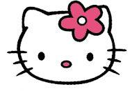 hello kitty - gratis borduurpatroon pes | stickdateien, kostenlose druckvorlagen, sticken