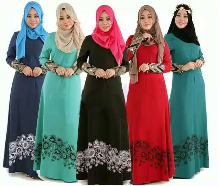 M-2XL Islamic Abaya Dresses Women Arab Ladies Caftan Kaftan Malaysia Abayas Dubai Turkish Ladies Clothing Women Muslim Dresses