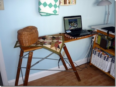 Last Saturday I was lucky enough to SCORE this old, antique ironing board…I  know what you're thinking…euwwww… But it's super heavy and rea. - 178 Best OLD IRONINGBOARDS Images On Pinterest Iron Board