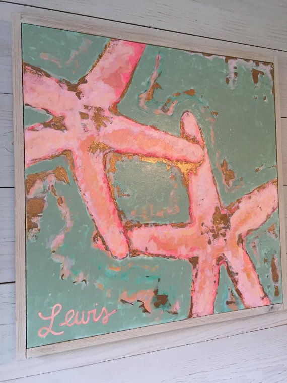 Starfish painting by katherinelewis13 on Etsy