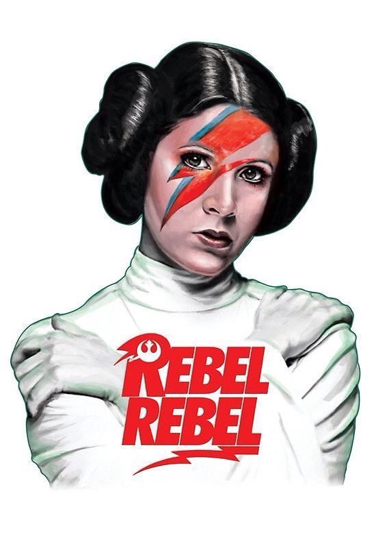 Rebel Rebel / Princess Leia Organa by Leka