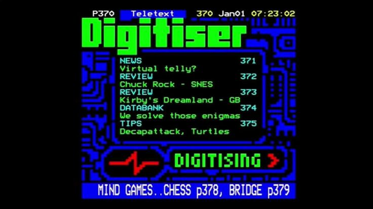 Man, this is a real treat: the inaugural edition of Digitiser, including reviews of Chuck Rock and Kirby's Dream Land!
