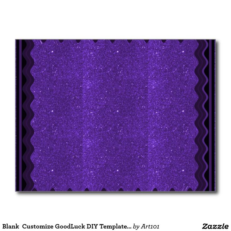 Blank  Customize GoodLuck DIY Templates lowprice Postcard