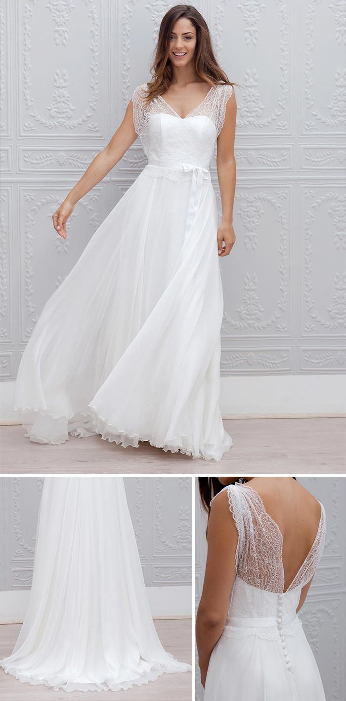"Robe de mariée 2015 ""Perrine"", Marie Laporte"