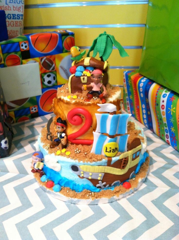 Jake The Pirate Cake Ideas