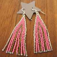Boucles d'oreilles Joy perles Miyuki et Argent 925