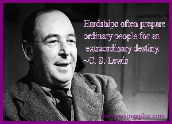 C S Lewis Hardship Quote With Picture: Best 20+ Quotes About Adversity Ideas On Pinterest