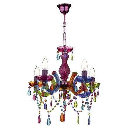 Glamour Chandelier, Multicoloured | ACHICA