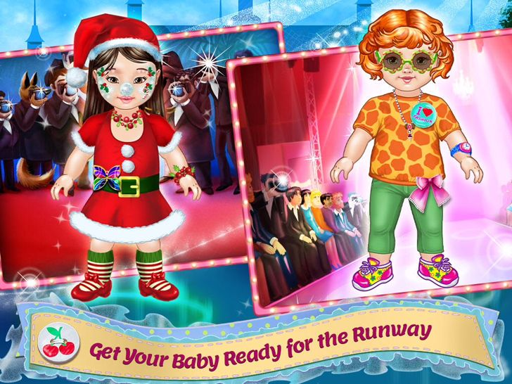 Design It! - Baby Fashion Designer: Dress Up , Make Up and Outfit Maker & Tailor App. Kids and makeover apps.