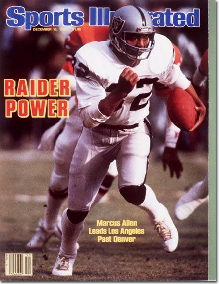 Favorite football player ever... Marcus Allen, a real commitment to excellence.