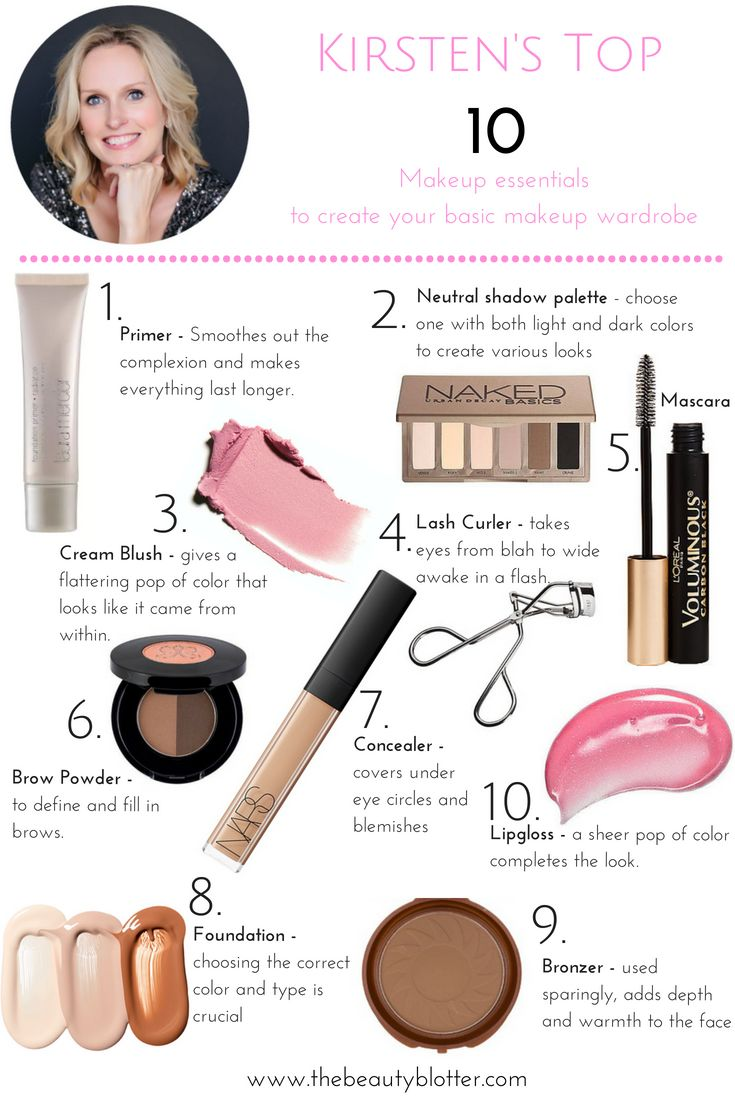 Top 10 Makeup Essentials Every Woman Should Own Makeup