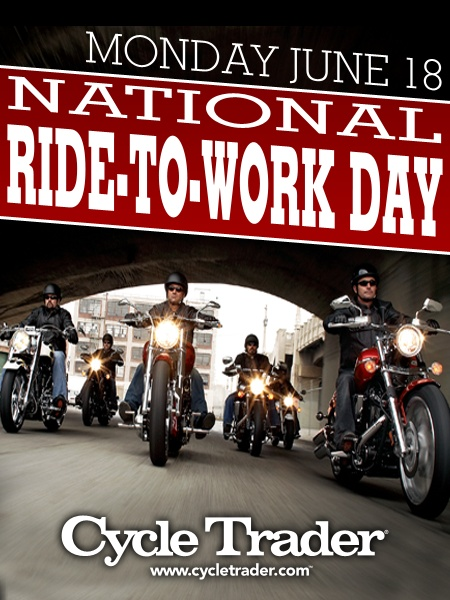 June 18, 2012 -- National Ride to Work Day